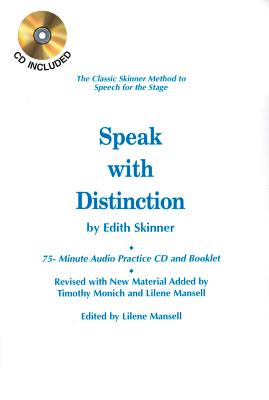 Speak with Distinction - Skinner, Edith