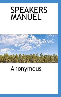 Speakers Manuel - Anonymous