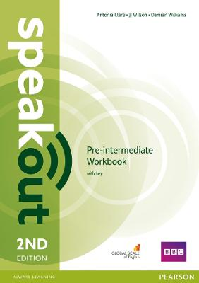 Speakout Pre-Intermediate 2nd Edition Workbook with Key - Williams, Damian