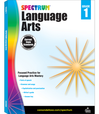 Spectrum Language Arts, Grade 1 - Spectrum (Compiled by)