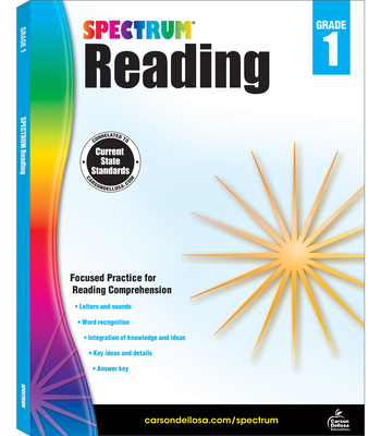 Spectrum Reading Workbook, Grade 1 - Spectrum (Compiled by)
