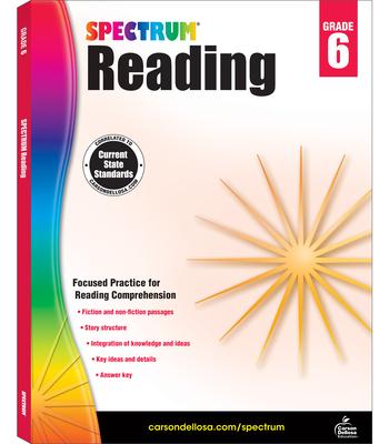 Spectrum Reading Workbook, Grade 6 - Spectrum (Compiled by)