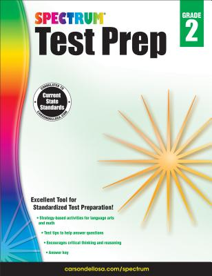Spectrum Test Prep, Grade 2 - Spectrum (Compiled by)