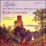 Spohr, Beethoven, Schubert, Mendelssohn, Weber: Lieder