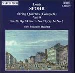 Spohr: Complete String Quartets, Vol. 9
