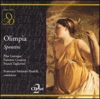 Spontini: Olympia - Alfredo Giacomotti (baritone); E. Rizzati (vocals); Fiorenza Cossotto (mezzo-soprano); Franco Tagliavini (tenor);...