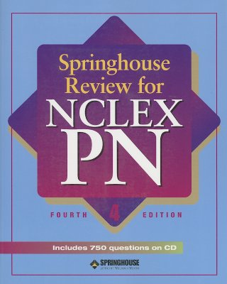 Springhouse Review for NCLEX-PN - Springhouse (Creator)