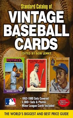 Standard Catalog of Vintage Baseball Cards - Lemke, Bob