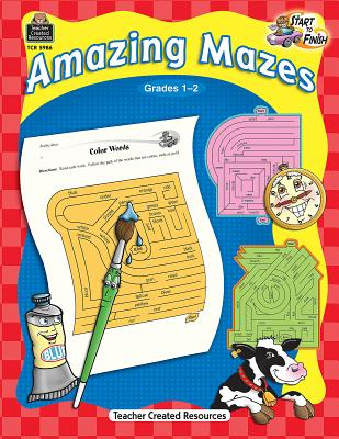 Start to Finish: Amazing Mazes Grd 1-2 - Housel, Debra J
