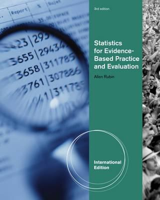 Statistics for Evidence-Based Practice and Evaluation - Rubin, Allen