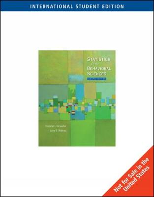 Statistics for the Behavioral Sciences - Gravetter, Frederick J., and Wallnau, Larry B.