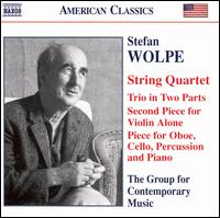 Stefan Wolpe: Chamber Music - Aleck Karis (piano); Charles Wuorinen (piano); Columbia University Group for Contemporary Music; Curtis Macomber (violin);...