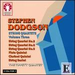 Stephen Dodgson: String Quartets, Vol. 3