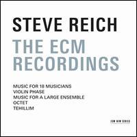 Steve Reich: The ECM Recordings - Bob Becker (tambourine); Bob Becker (marimba); Bob Becker (xylophone); Cheryl Bensman Rowe (soprano); Chris Finckel (cello);...