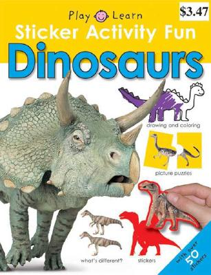 Sticker Activity Fun Dinosaurs - Priddy, Roger