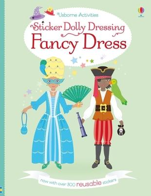 Sticker Dolly Dressing Fancy Dress - Bone, Emily