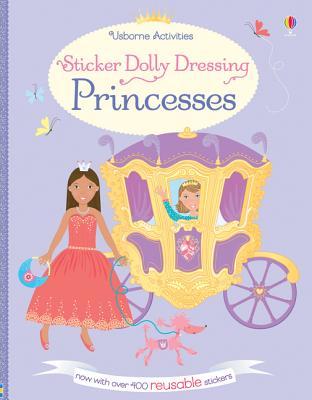 Sticker Dolly Dressing Princesses - Watt, Fiona