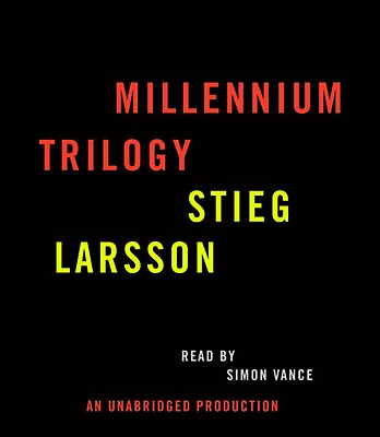 Stieg Larsson Millennium Trilogy Audiobook CD Bundle: The Girl with the Dragon Tattoo, the Girl Who Played with Fire, and the Girl Who Kicked the Hornet's Nest - Larsson, Stieg, and Vance, Simon (Read by)