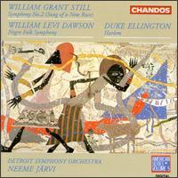 Still: Symphony No. 2; Dawson: Negro Folk Symphony; Ellington: Harlem - Detroit Symphony Orchestra; Neeme Järvi (conductor)