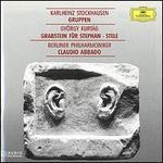 Stockhausen: Gruppen; Kurt�g: Grabstein f�r Stephan; Stele