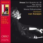 Strauss: Don Quixote Op. 35; Also sprach Zarathustra Op. 30