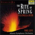 Stravinksy: The Rite of Spring; Pulcinella Suite
