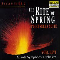 Stravinksy: The Rite of Spring; Pulcinella Suite - Atlanta Symphony Orchestra; Yoel Levi (conductor)