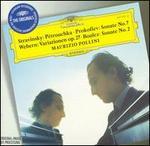 Stravinsky: P�trouchka; Prokofiev: Sonate No. 7; Webern: Variationen op. 27; Boulez: Sonate No. 2