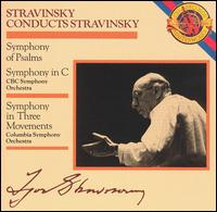 Stravinsky: Symphony of Psalms; Symphony in C; Symphony in Three Movements - Toronto Festival Singers (choir, chorus)