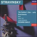 Stravinsky: The Soldier's Tale; Divertimento; Etc.