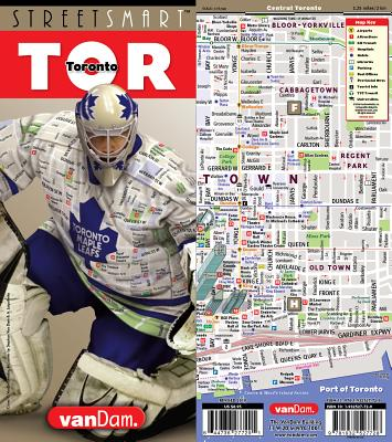 Streetsmart Toronto Map by Vandam - Van Dam, Stephan (Editor)