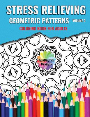 Stress Relieving Geometric Patterns - Books, Mary S, and Designs, Ausdigipix