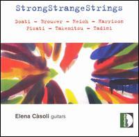 StrongStrangeStrings - Elena Càsoli (guitar); Manuel Zurria (flute); Maurizio Ben Omar (percussion); Maurizio Pisati (guitar)