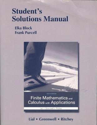 9780133920659: Student's Solutions Manual for Finite Mathematics and