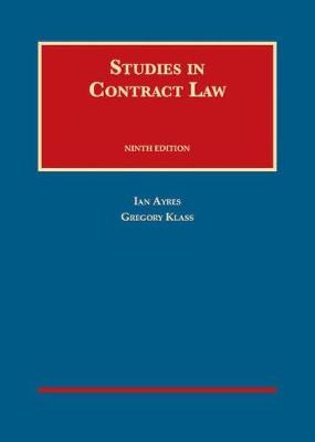 Studies in Contract Law - Ayres, Ian, and Klass, Gregory