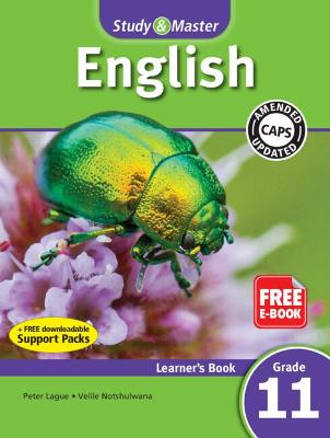 Study & Master English FAL Learner's Book Grade 11 - Lague, Peter, and Notshulwana, Velile