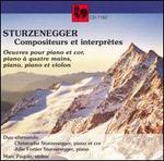 Sturzenegger: Compositeurs et interpr�tes