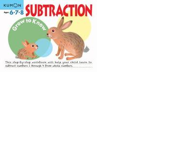Subtraction - Kumon Publishing (Compiled by)
