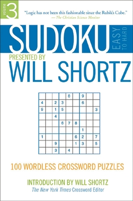 Sudoku Easy to Hard: 100 Wordless Crossword Puzzles - Shortz, Will, and Pzzl.com