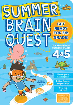 Summer Brain Quest: Between Grades 4 & 5 - Workman Publishing, and Heos, Bridget, and Piddock, Claire