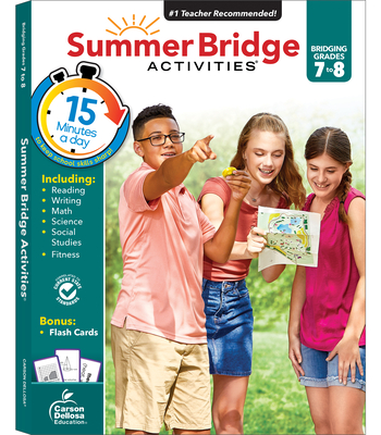 Summer Bridge Activities, Grades 7 - 8 - Summer Bridge Activities (Compiled by)