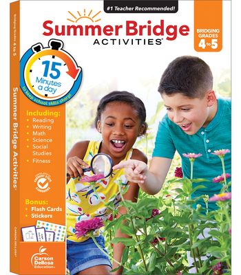 Summer Bridge Activities(r), Grades 4 - 5 - Summer Bridge Activities (Compiled by)