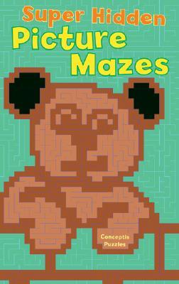 Super Hidden Picture Mazes - Conceptis Puzzles (Creator)