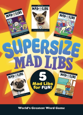 Supersize Mad Libs - Mad Libs