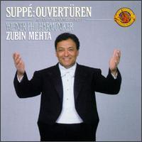 Suppé: Overtures - Vienna Philharmonic Orchestra; Zubin Mehta (conductor)