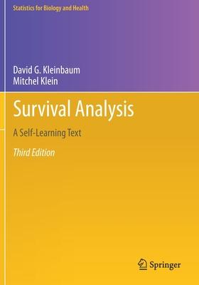 Survival Analysis: A Self-Learning Text - Kleinbaum, David G, and Klein, Mitchel