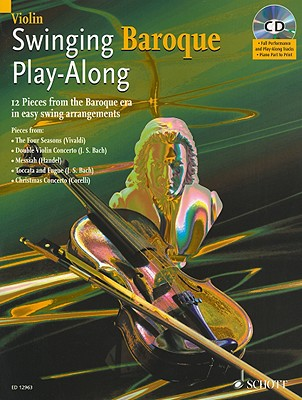 Swinging Baroque Play-Along for Violin - L'Estrange, Alexander