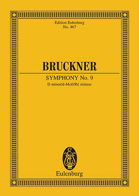 Symphony No. 9 in D Minor: Study Score - Bruckner, Anton (Composer)