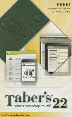 Taber's Cyclopedic Medical Dictionary - Venes, Donald, MD (Editor)