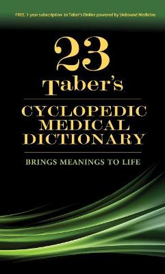 Taber's Cyclopedic Medical Dictionary - Venes, Donald